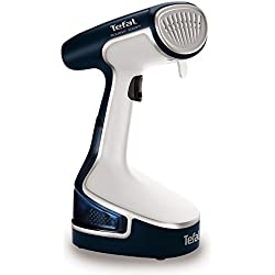 Tefal DR8085 Access Steam Garment Steamer - White and Blue by Tefal