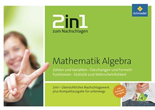 Preisvergleich Produktbild 2in1 zum Nachschlagen: Mathematik Algebra