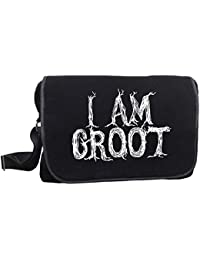 Guardian Of The Galaxy I Am Groom Messenger Bag Laptop Bag By Decrum