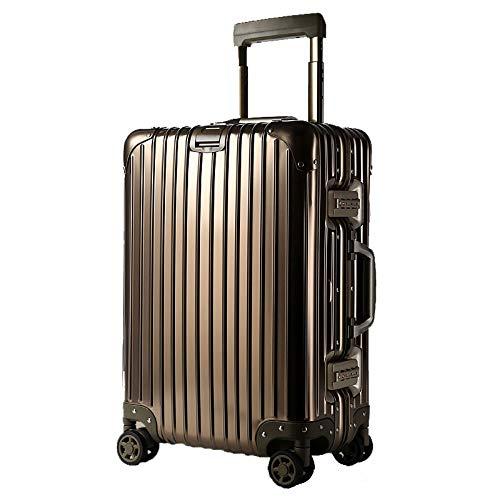 LIYONG Gepäck Reise Koffer Passwort Box Trolley Spinner Gepäck Schutzhülle Für 20/24 Zoll , Multi-Select-Farbe (Color : Titanium Gold, Size : 20 inches)