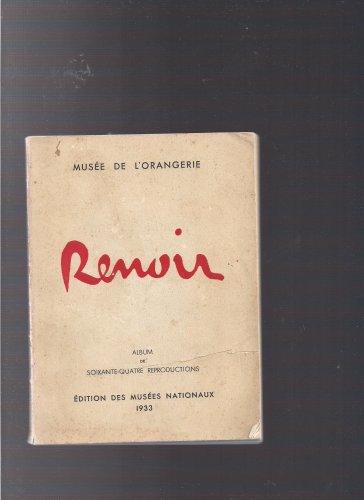Renoir (dition des Muses Nationaux 1933, album de soixante-quatre reproductions)