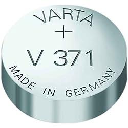 VARTA pile oxyde argent pour montres, V371 (SR69), 1,55 Volt