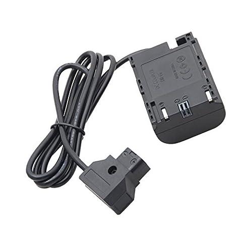 Gazechimp connecteur D-Tap Smallhd 501 moniteur câble électrique, appareil photo reflex numérique Canon LP-E6 batterie adaptateur câble