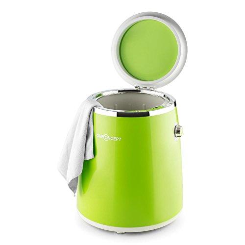 OneConcept Ecowash-Pico • Mini lavadora portable