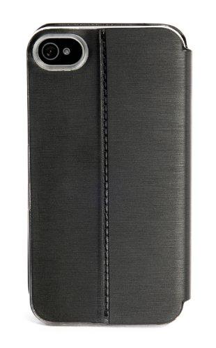 Tucano IPHE-SL Eyes Case für Apple iPhone 4/4S silber Schwarz