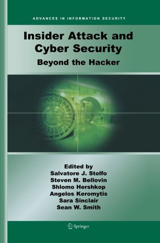 Insider Attack and Cyber Security: Beyond the Hacker (Advances in Information Security) (2008-04-07) par unknown