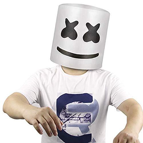 Miminuo Musikfestival Halloween-Maske Requisiten Volle Kopfmaske Halloween-Kostüme Cosplay-Maske (Halloween Kostüme Pics)