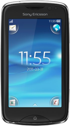 Sony Sony Ericsson Txt Pro Smartphone (7,6 cm (3,0 Zoll) Display, Touchscreen, 3,15 Megapixel Kamera) schwarz