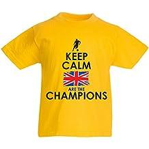N4507K La Camiseta de los ninos North Irish Are The Champions !