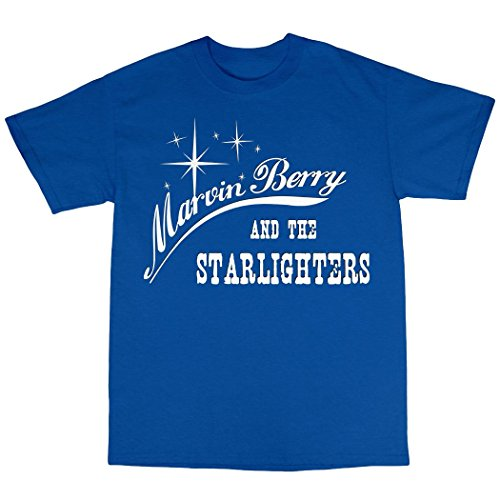 Marvin Berry & The Starlighters T-Shirt 100% Baumwolle Königsblau