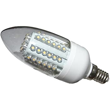 Ampoule LED E14 60 LED blanc froid 3W=35/40W