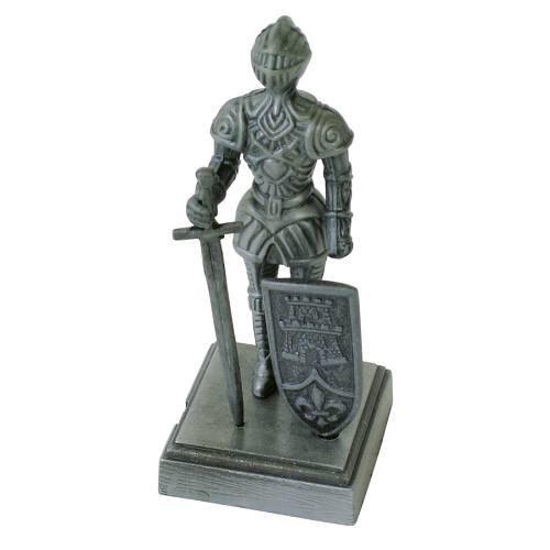Ritter mit Schwert und Schild, Bleistiftspitzer
