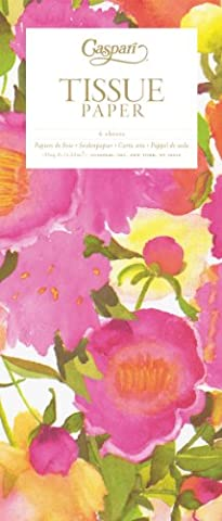Peonies Printed Tissue Wrapping Paper - 4