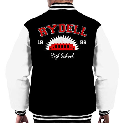 (Cloud City 7 Grease Rydell High School Men's Varsity Jacket)