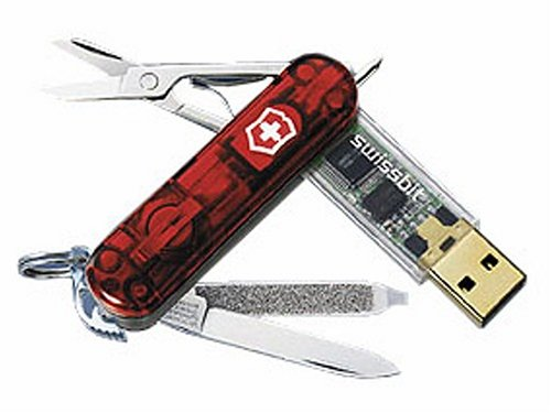Victorinox Swissmemory 1GB - USB memory stick swiss army knife - with