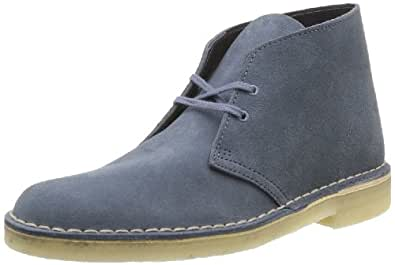 Clarks Desert Boot 203589886, Herren Desert Boots, Blau (Denim), EU 42.5