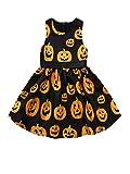 RYTEJFES Kinder Langarm Halloween Kostüm Top Set Baby Kleidung Set Kleinkind Infant Baby Mädchen...