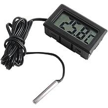 Termómetro para Acuario / Terrario digital LCD medir Temperatura