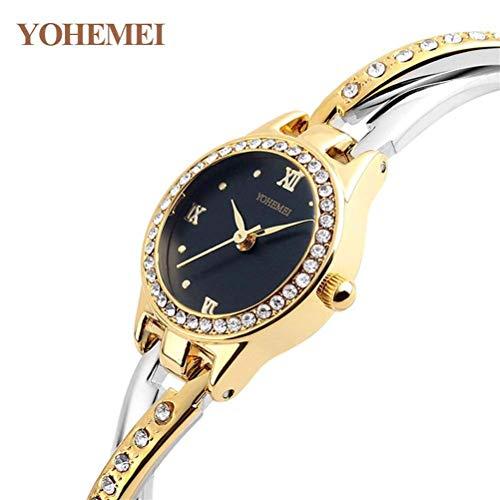 xisnhis schönen Sport - Mode damenuhr mit Diamant - Armband auf weibliche Quarz - Uhr Wasserdichte Zeiger
