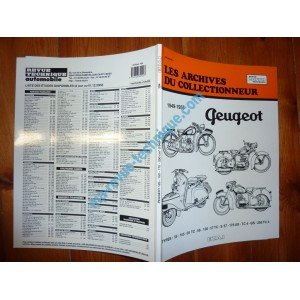 ARCRTM0015 REVUE TECHNIQUE MOTOCYCLISTE ARCHIVES COLLECTIONNEUR PEUGEOT 125CC 150CC 175CC 250CC