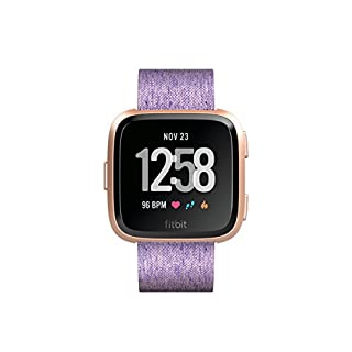 Fitbit Versa Special Edition Health & Fitness Smartwatch, lavendel, One Size,  FB505RGLV-EU