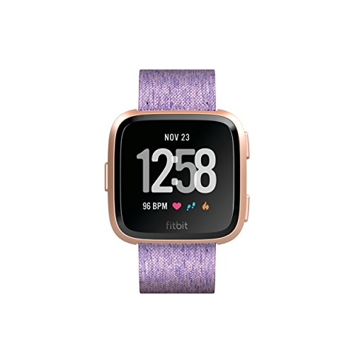 Fitbit Versa Special Edition Health & Fitness Smartwatch with Heart Rate, Music & Swim Tracking, Lavender