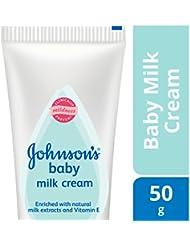 Johnson's Baby Milk Cream with Vitamin E, 50g
