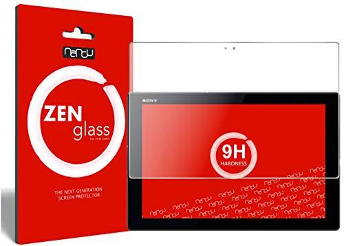 nandu I ZenGlass Flexible Glas-Folie für Sony Xperia Z4 Tablet Panzerfolie I Display-Schutzfolie 9H