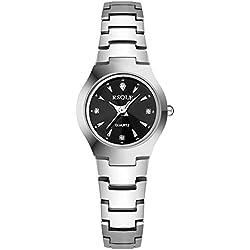Ladies steel bracelet quartz watch