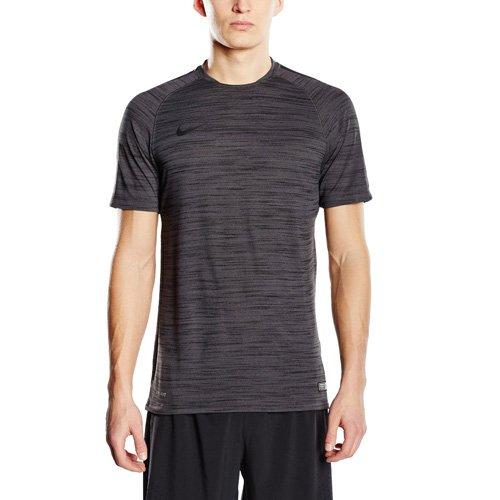 Nike Herren Fußballtrikot Flash Dri-Fit Cool, Black/Htr, XL
