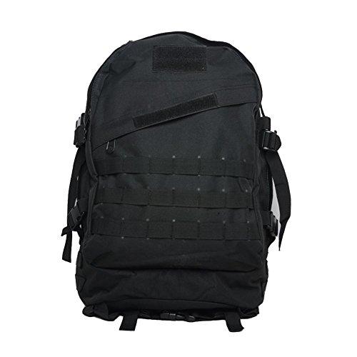 Outdoor Bergsteigen Tasche 40L3D Militär Tarnung Rucksack Klettern Wandern täglich Camping Taschen und Taschen Black