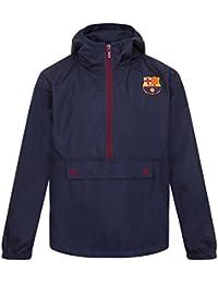 FC Barcelona - Jungen Wind- und Regenjacke - Offizielles Merchandise - Geschenk für Fußballfans