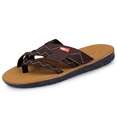 Slippers & amp da uomo;Estate Comfort PU all'aperto Sandali piatti Heel Walking sandali US8.5-9 / EU41 / UK7.5-8 / CN42