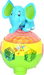 A M ENTERPRISES Musical Elephant Mischievous Toy