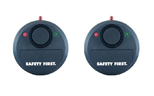2 x Safety First Glasbruchalarm Fensteralarm Einbruchschutz