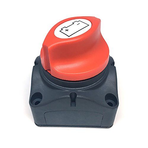 Preisvergleich Produktbild WIWIR Batterie-Trennschalter 12-48V 200/1000A Akku Power Cut Off Schalter für Marine Boot Caravan Kfz Fahrzeuge (Typ-2)