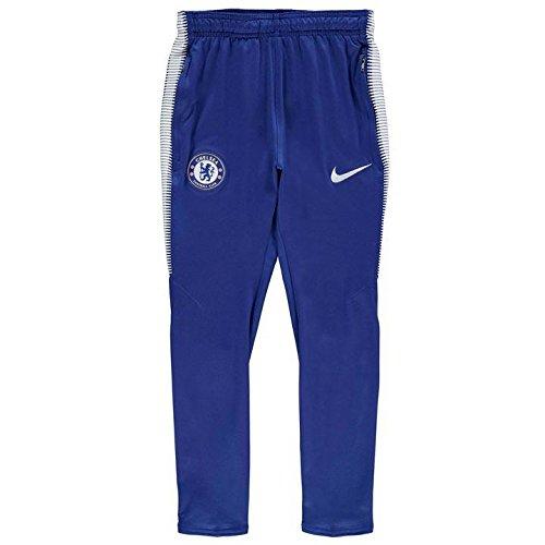 2017-2018 Chelsea Nike Tracksuit Pants (Blue) - Kids