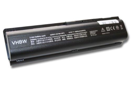 AKKU LI-ION 8800mAh 10.8V in schwarz black passend für HEWLETT-PACKARD Notebook HP G-Serie: G50-100, G60-230US etc. ersetzt HSTNN-CB72, HSTNN-W50c etc