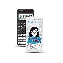 Casio FX-991SPXII Iberia Calculatrice scientifique Jess Wade sur le couvercle 576 fonctions 12 chiffres SOLAR Noir/Blanc