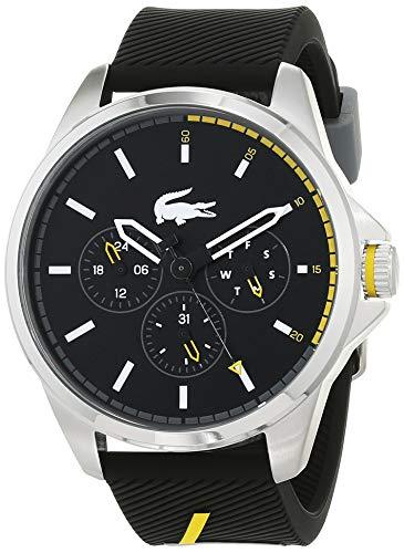 Lacoste Hommes Multi-cadrans Quartz Montres bracelet avec bracelet en Silicone - 2010978