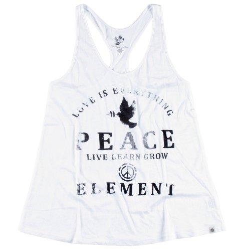 Element T-shirt T-shirt Devise Singlet Blanc - Blanc