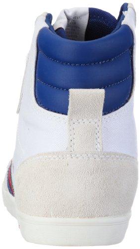 hummel HUMMEL SLIMMER STADIL HIGH 63-111-2639 Unisex-Erwachsene Sneaker Weiß (OFF-WHITE/BLACK 9227)