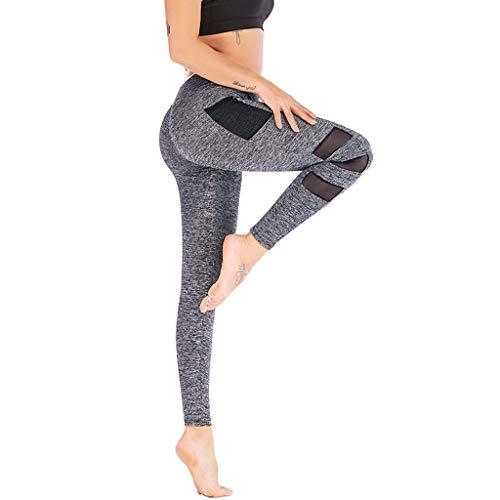 ICNCVKXYoga-Laufhosen für Damenleggings, super weich und dehnbar, helle Farben, Einheitsgröße für Top-Qualität in vielen Ausführungen