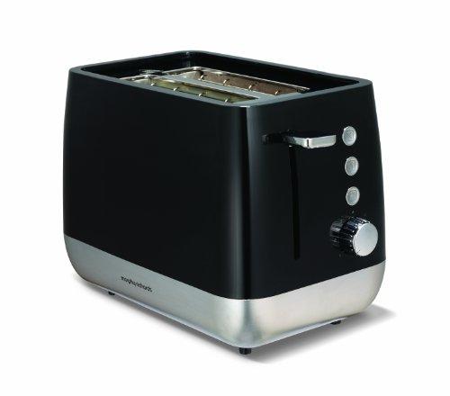 Morphy Richards 221152EE Chroma Toaster 2 Schlitz schwarz