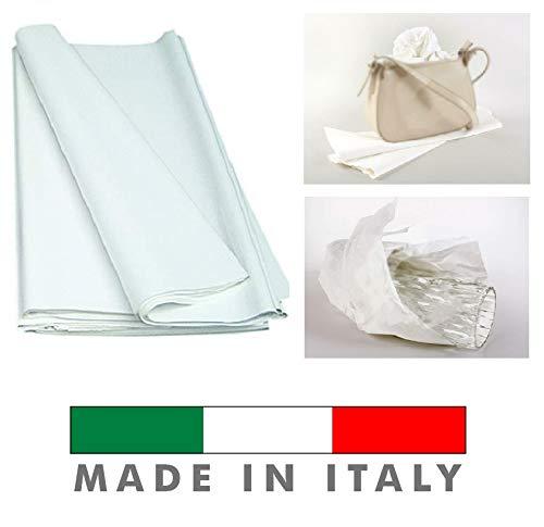 Palucart® Fogli Carta Velina Bianco ghiaccio 100X150 220 Fogli 15kg