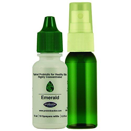Probiotiques à pulvériser par Probiotic Action pour l'acné et couperose - 15 ml -