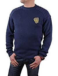 Timberland Homme Pull Hiver Pull Bleu Foncé Taille M