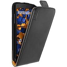 Mumbi Flip Case - Funda para Google Nexus 5, negro