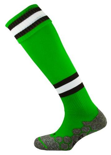 mitre-division-tec-chaussettes-de-football-unisexe-vert-emeraude-noir-blanc-adult-7-13