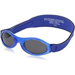 KidzBanz Unisex - Baby Sonnenbrille ABBLV-Lavender Tulip, Gr. one size (0-2 Jahre), Blau